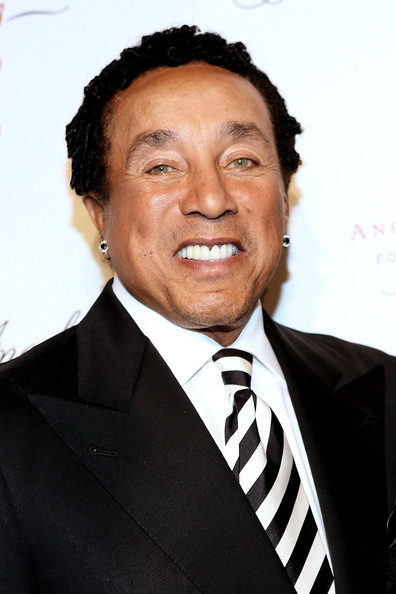 Singer Smokey Robinson is 73 today