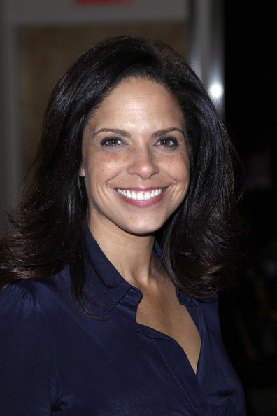 Soledad O'Brien attends the Sukeina fall 2013 fashion show at Helen Mills Event Space on February 7, 2013 in New York City