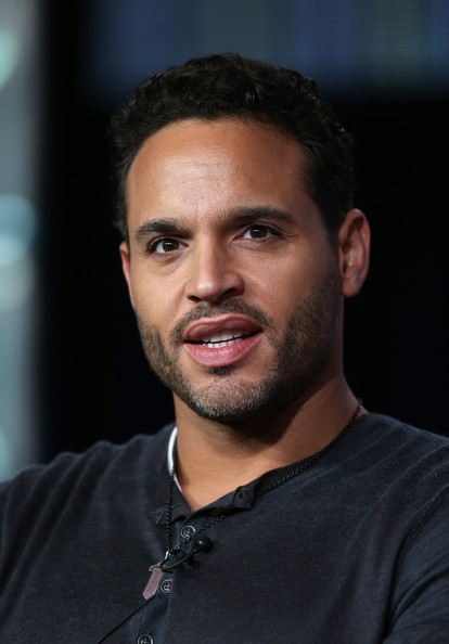 "Actor Daniel Sunjata speaks onstage at the ""Graceland"" panel discussion during the USA portion of the 2013 Winter TCA Tour- Day 4 at the Langham Hotel on January 7, 2013 in Pasadena, California."