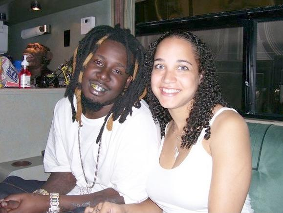 t-pain & wife amber