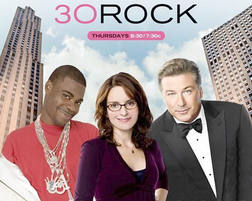 tracy morgan tina fey & alec baldwin (30 rock)