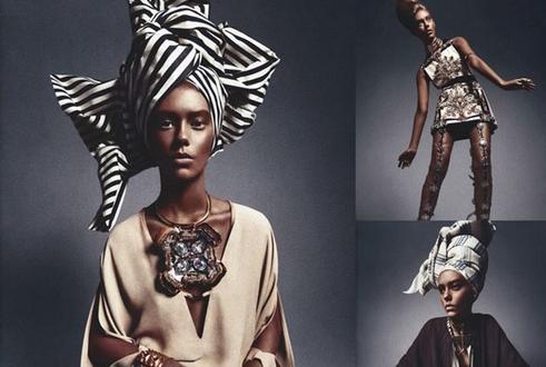 white african model