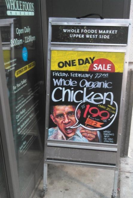 whole foods obama like racist ad