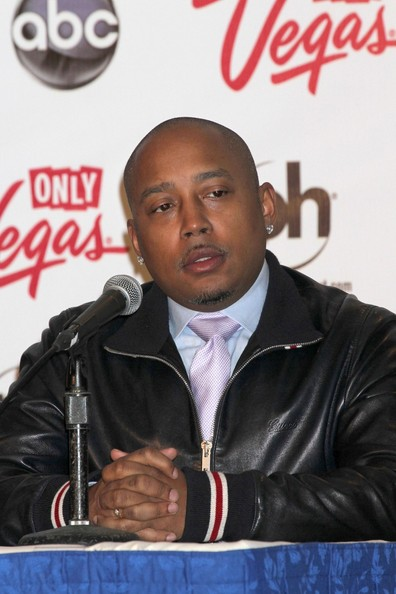 Daymond John attends the 2013 Miss America Judge's Press Conference held at the Planet Hollywood Resort and Casino in Las Vegas. (January 9, 2013)