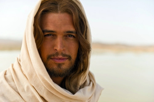 "Diogo Morgado as Jesus in History Channel's ""The BIble"""