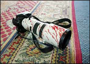 bloody camera