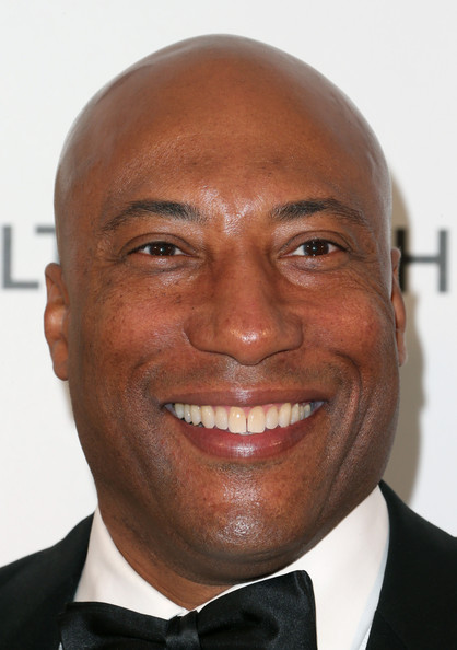 Producer Byron Allen arrives at the 21st Annual Elton John AIDS Foundation's Oscar Viewing Party on February 24, 2013 in Los Angeles