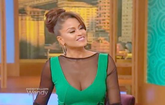 claudia jordan (on wendy)
