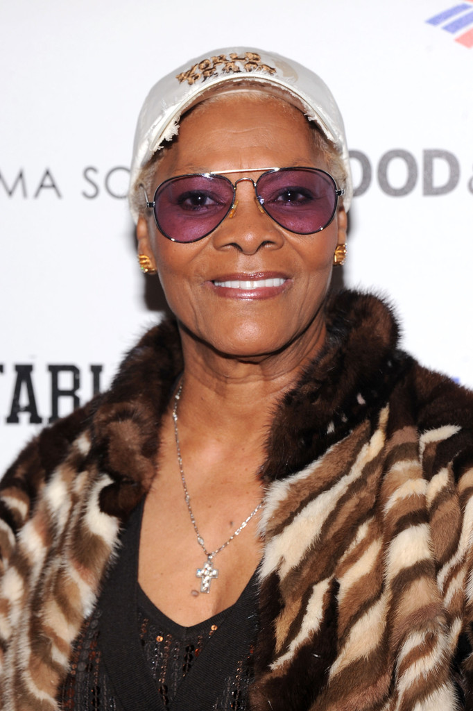 "Dionne Warwick attends Magnolia Pictures And Participant Media With The Cinema Society Present A Screening Of ""A Place At The Table"" at MOMA - Celeste Bartos Theater on February 27, 2013 in New York City"