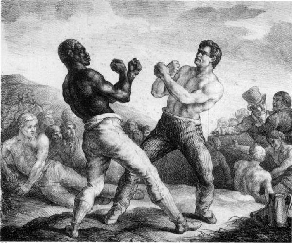 early boxers (drawing)