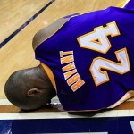 Kobe Out with Sprained Ankle, Blames 'Dirty' Dahntay Jones (Watch)