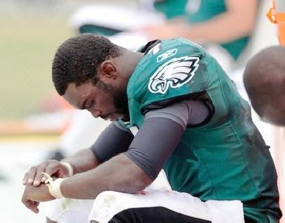 michael vick (bad game - bad day)
