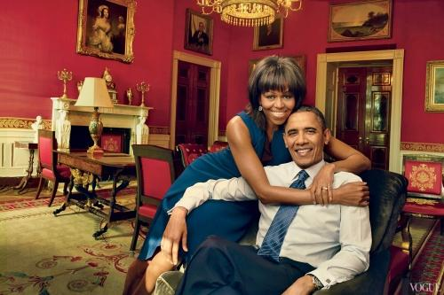 michelle & barack (vogue)