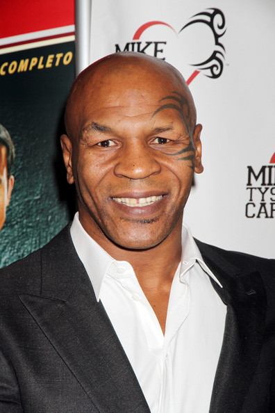 Mike Tyson at the official launch of 'Mike Tyson Cares Foundation' at Tabu Ultra Lounge at the MGM Grand Hotel and Casino in Las Vegas