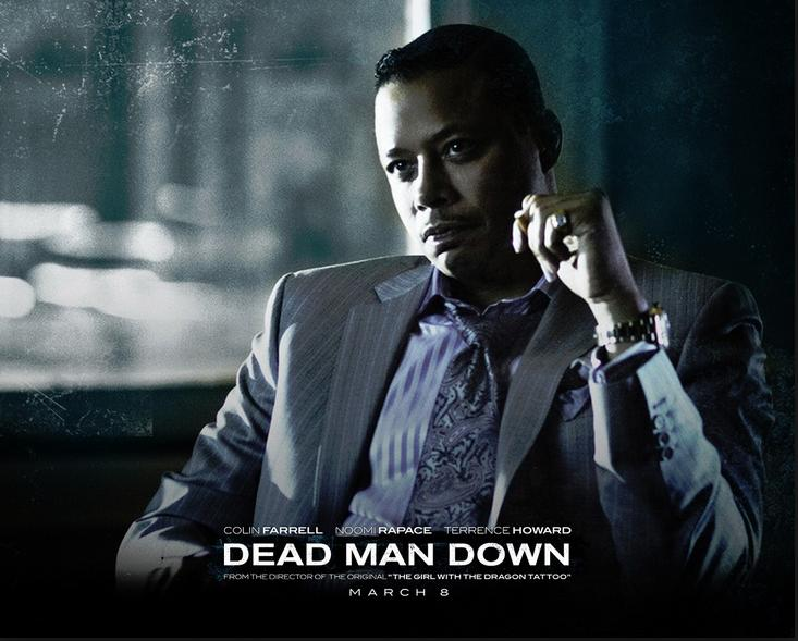 terrence howard (dead man down poster)