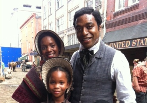 Chewitel Ejiofor, Quevenzhane Wallis in 12 Years a Slave