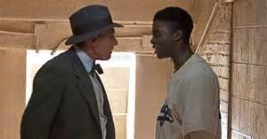 Harrison Ford and Chadwick Boseman