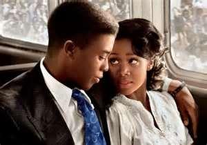 Chadwick Boseman and Nicole Beharie