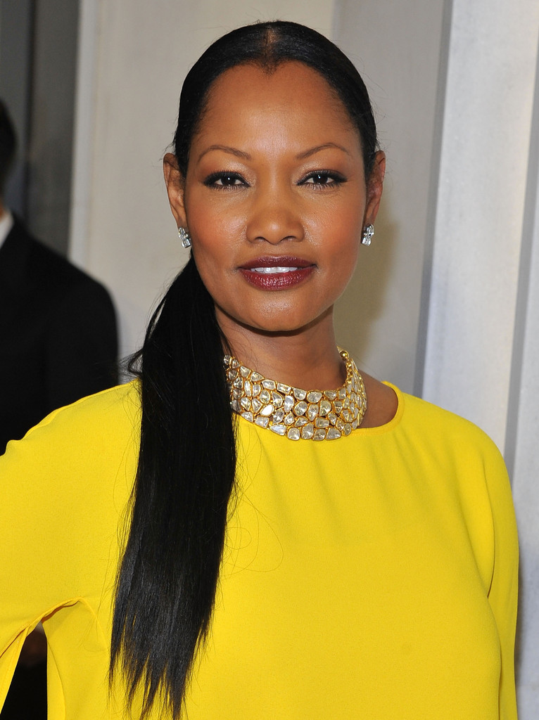 Actress Garcelle Beauvais attends Tom Ford's cocktail event in support of Project Angel Food at TOM FORD on February 21, 2013 in Beverly Hills