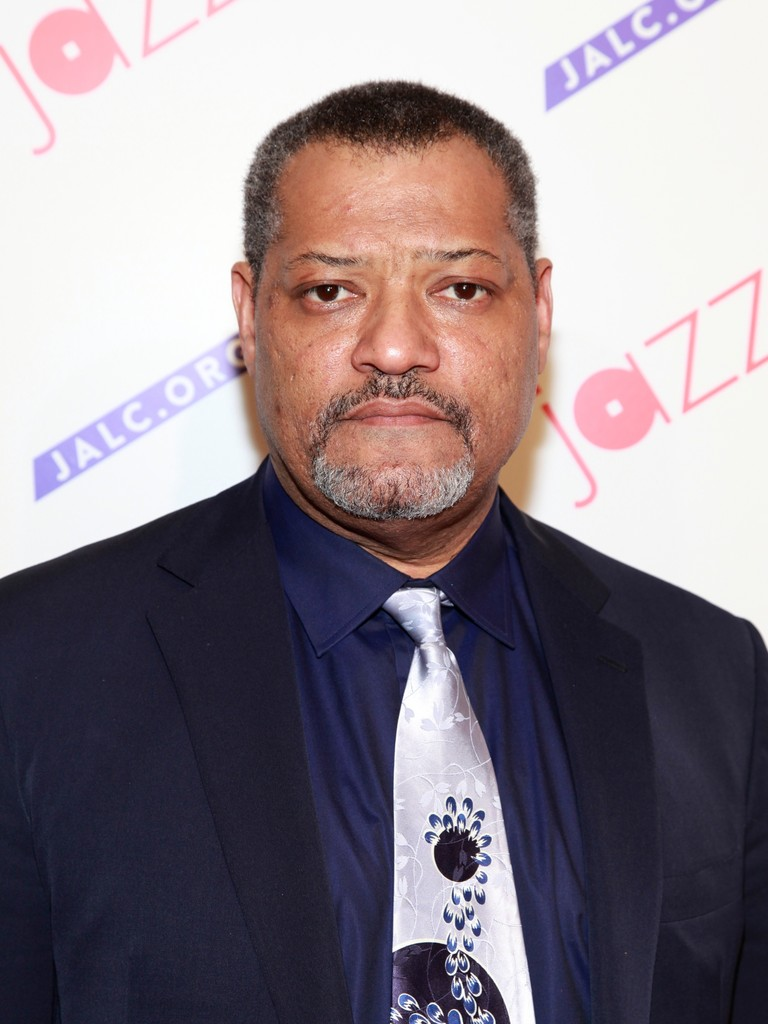 Actor Laurence Fishburne attends the Paul Simon Songbook to Benefit Jazz at Lincoln Center gala concert & dinner at Frederick P. Rose Hall, Jazz at Lincoln Center on April 18, 2012 in New York City
