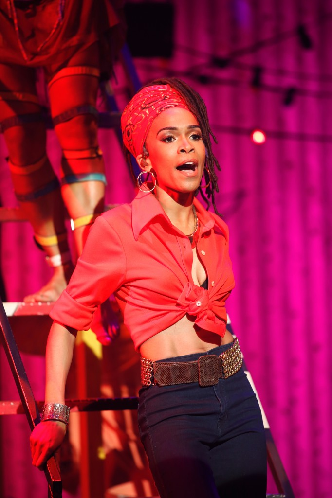 Michelle Williams as Sandra Isadore in Red by Carol Rosegg