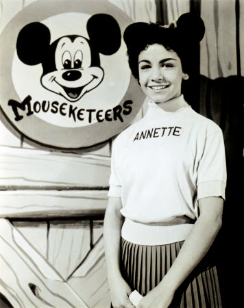 annette funicello (& mickey mouse)