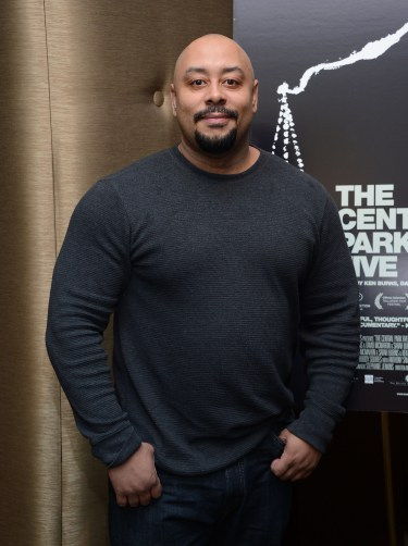"Raymond Santana at ""The Central Park Five"" New York Special Screening at Dolby 88 Theater on October 2, 2012 in New York City."
