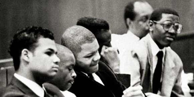 Central Park Five defendants on trial in 1990