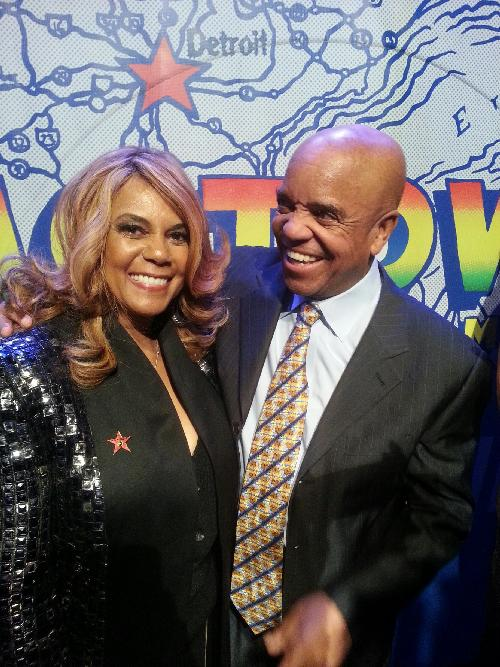 claudette robinson & berry gordy