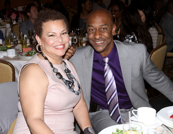 Chairman/CEO of BET Networks Debra Lee and President of Music Programming BET Networks Stephen Hill attend BET Networks 2013 Los Angeles Upfront at Montage Beverly Hills on April 2, 2013 in Beverly Hills