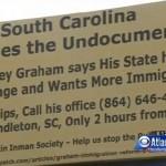 Georgia Billboard Detours Immigrants to South Carolina