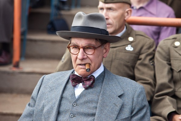 "Harrison Ford as Branch Rickey in ""42"""