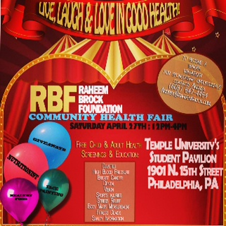 Raheem Brock Foundation Community Health Fair