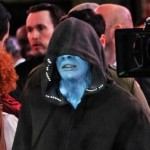 'Spider-Man 2's' Jamie Foxx as Electro in Times Square (Pics)