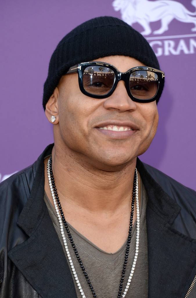 Rapper/actor LL Cool J arrives at the 48th Annual Academy of Country Music Awards at the MGM Grand Garden Arena on April 7, 2013 in Las Vegas