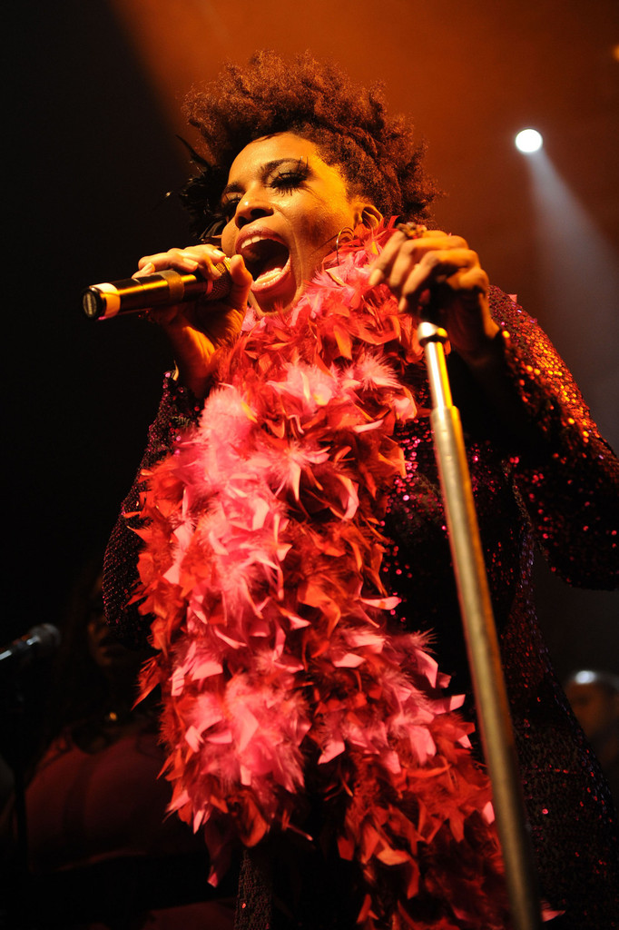 Macy Gray performing live in concert at KoKo in London, England. (December 20, 2012)
