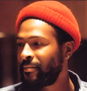 marvin gaye -red knit cap