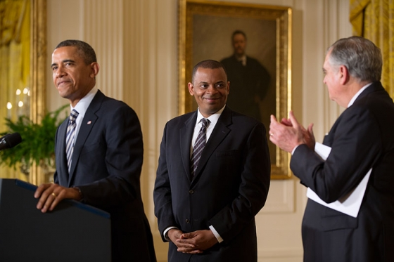 obama & anthony foxx
