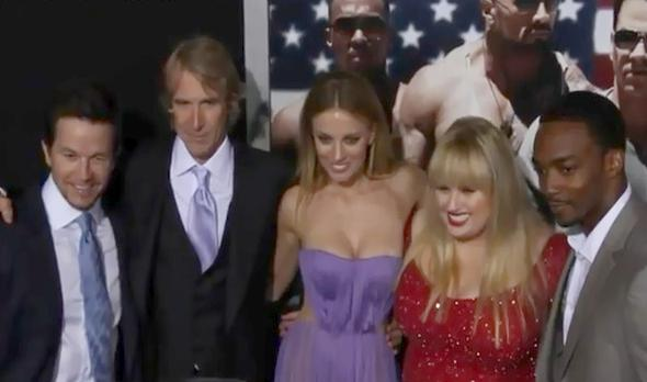 pain & gain cast (at red carpet)