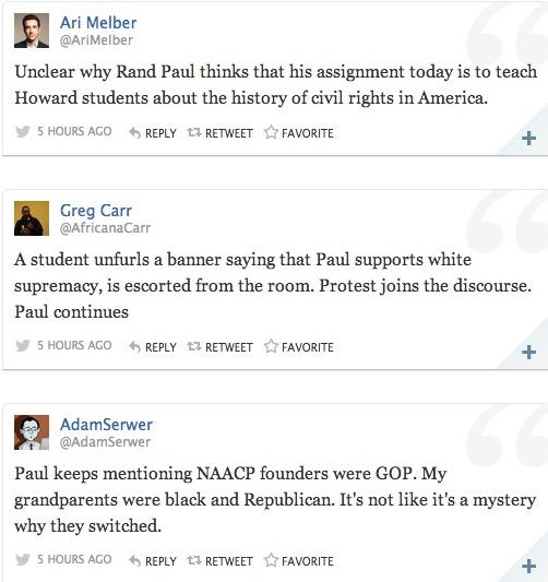 rand paul howard tweets