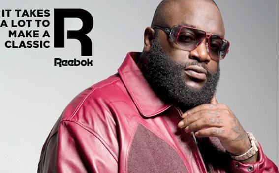 rick ross (reebok ad)