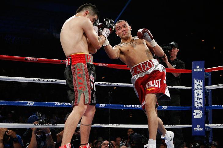 Brandon Rios vs Mike Alvarado