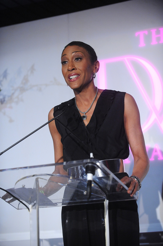 Robin Roberts attends 2013 DVF Awards at United Nations on April 5, 2013 in New York City