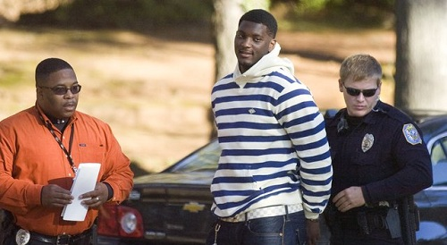 rolando mcclain being arrested