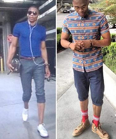 russell westbrook nba fashion