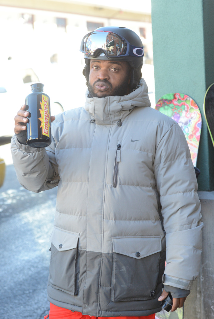 Sal Masekela attends the Oakley Learn To Ride In Collaboration With New Era on January 19, 2013 in Park City, Utah