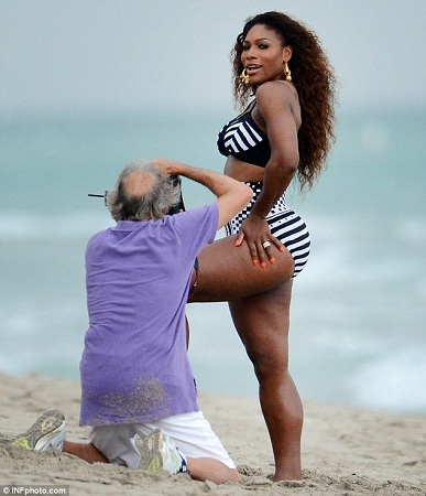 serena williams swimsuit photo shoot