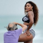 Serena Williams Gets Her Pose On During Miami Swimsuit Photo Shoot