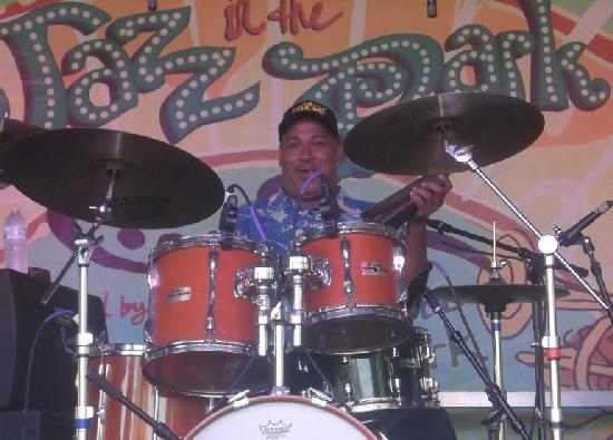 shannon powell (on drums)