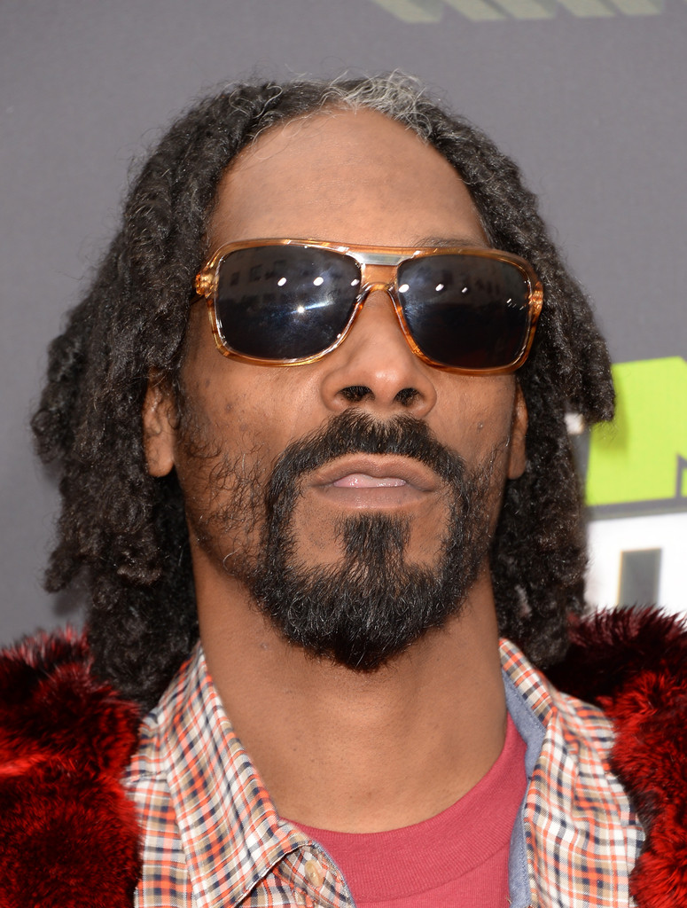 Rapper Snoop Lion arrives at the 2013 MTV Movie Awards at Sony Pictures Studios on April 14, 2013 in Culver City